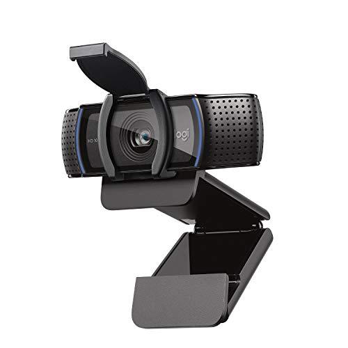 Logitech C920s HD Pro Webcam, Full HD 1080p/30fps, PC/Mac/Portátil/Tablet/XBox