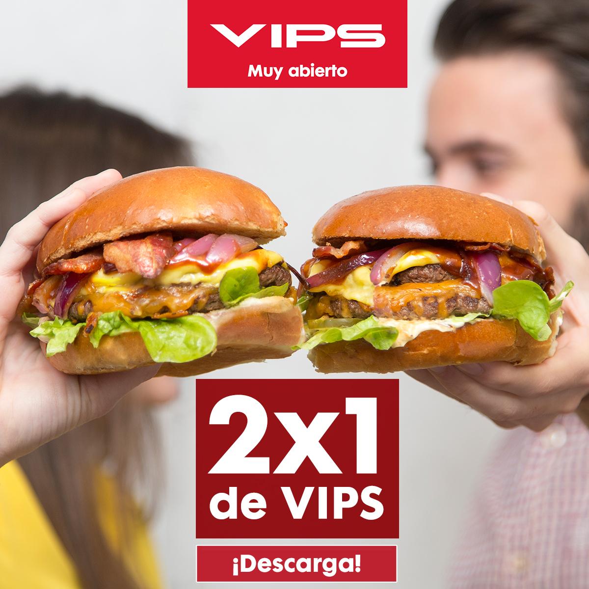 Cenas 2x1 de VIPS