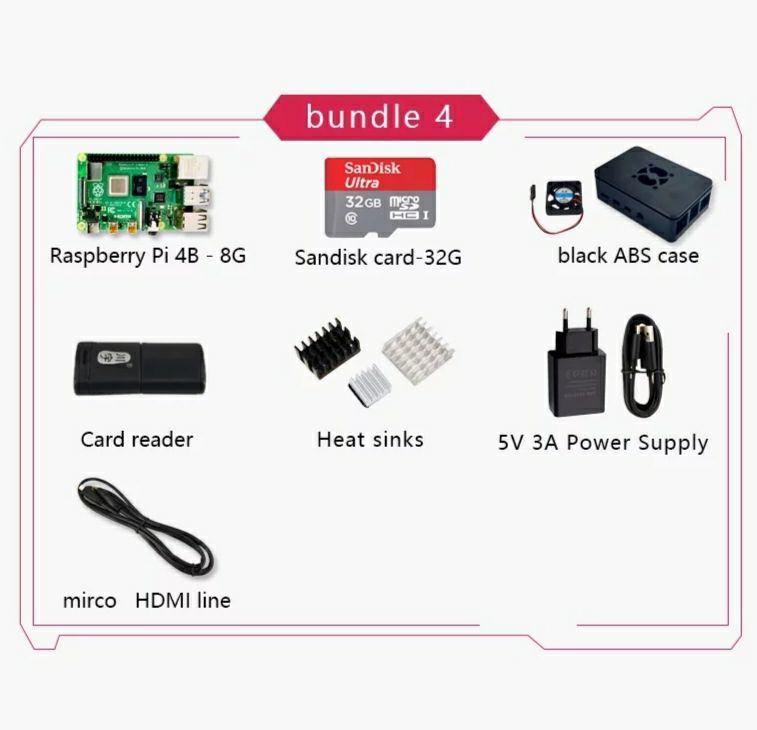 Kit Raspberry Pi 8GB
