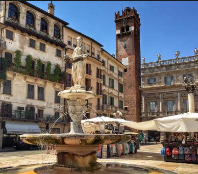 Norte de Italia-Verona y Garda 120€/p = 3 noches en hotel 4* con desayunos y vuelos incluidos