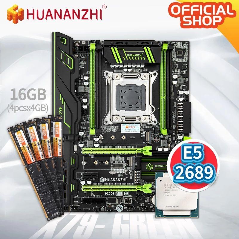 Combo X79 Placa base + E5 2689 + 4×4 DDR3 1866MHz CL10 | AliExpress