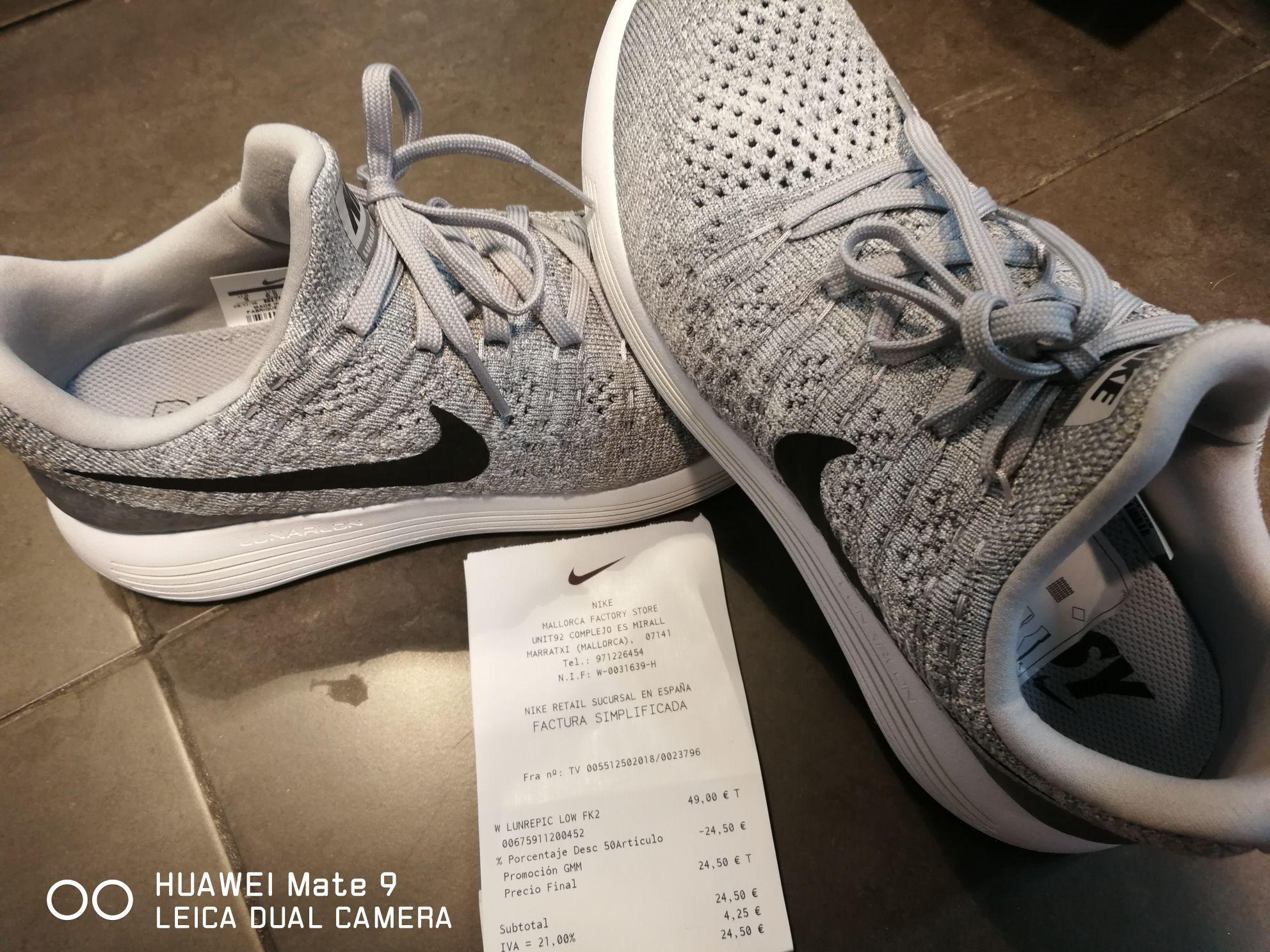Nike lunarepic Wmns varias tallas 24.5€