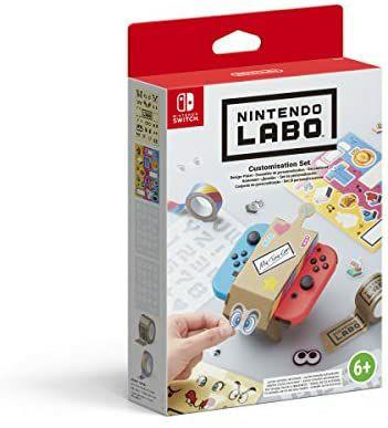 Nintendo Labo - Set de personalización - (Reacondicionado como nuevo)