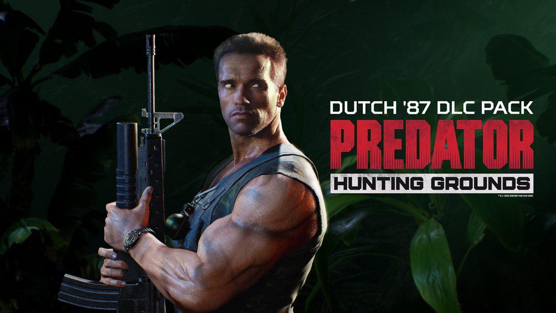 Dutch (87) y prueba gratuita de Predator: Hunting Grounds