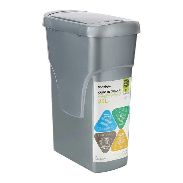 Cubo de reciclaje ensamblable 25 litros ECI