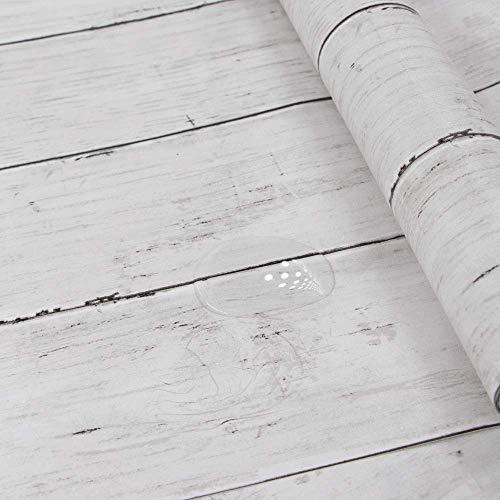 Papel autoadhesivo con efecto de madera (45 x 300 cm)