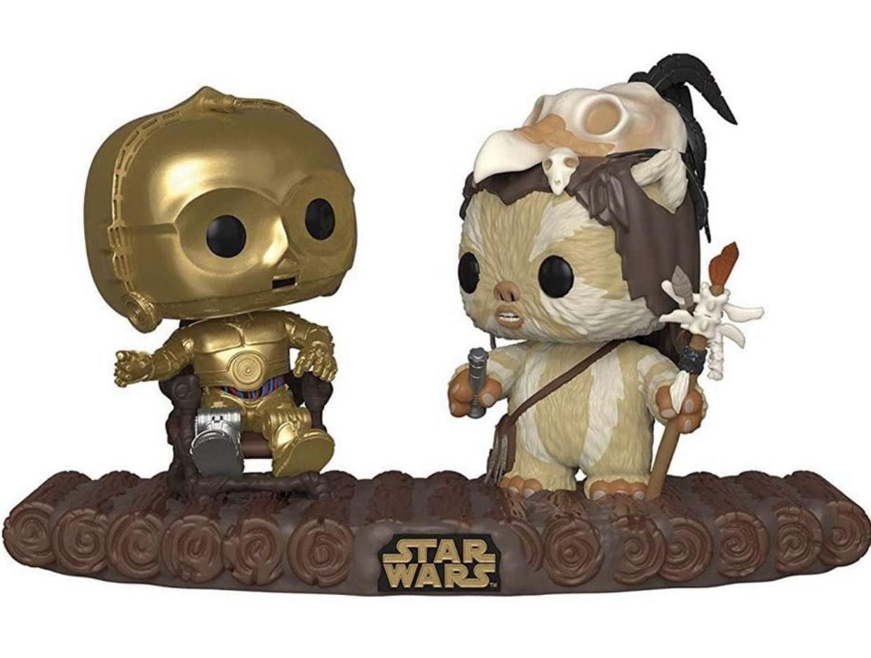 Pop! Vinyl Movie Moment - Star Wars: C3PO en trono