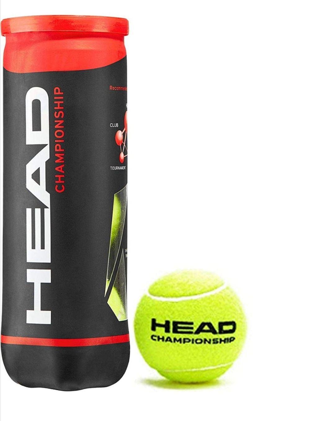 3 pelotas de tenis head