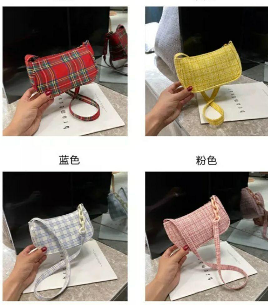 Bolso pequeño de hombro para mujer Con correa (4 modelos)