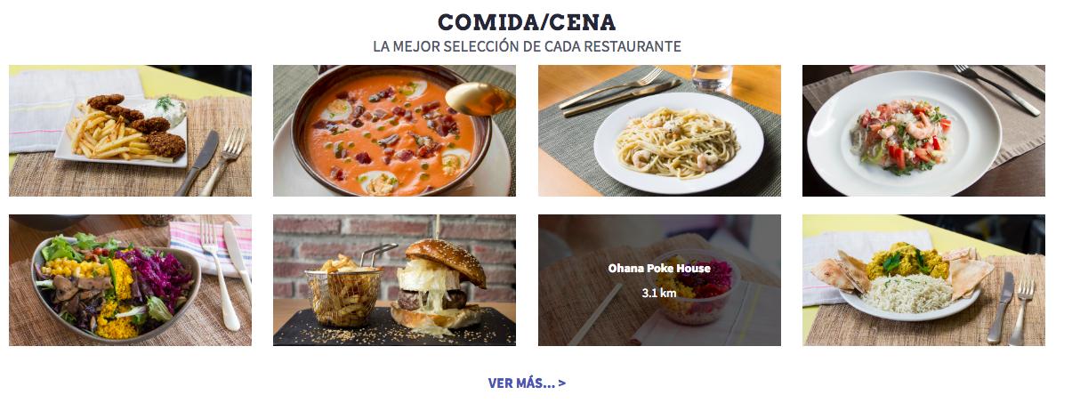 Comer/cenar por menos de 4 € en Madrid