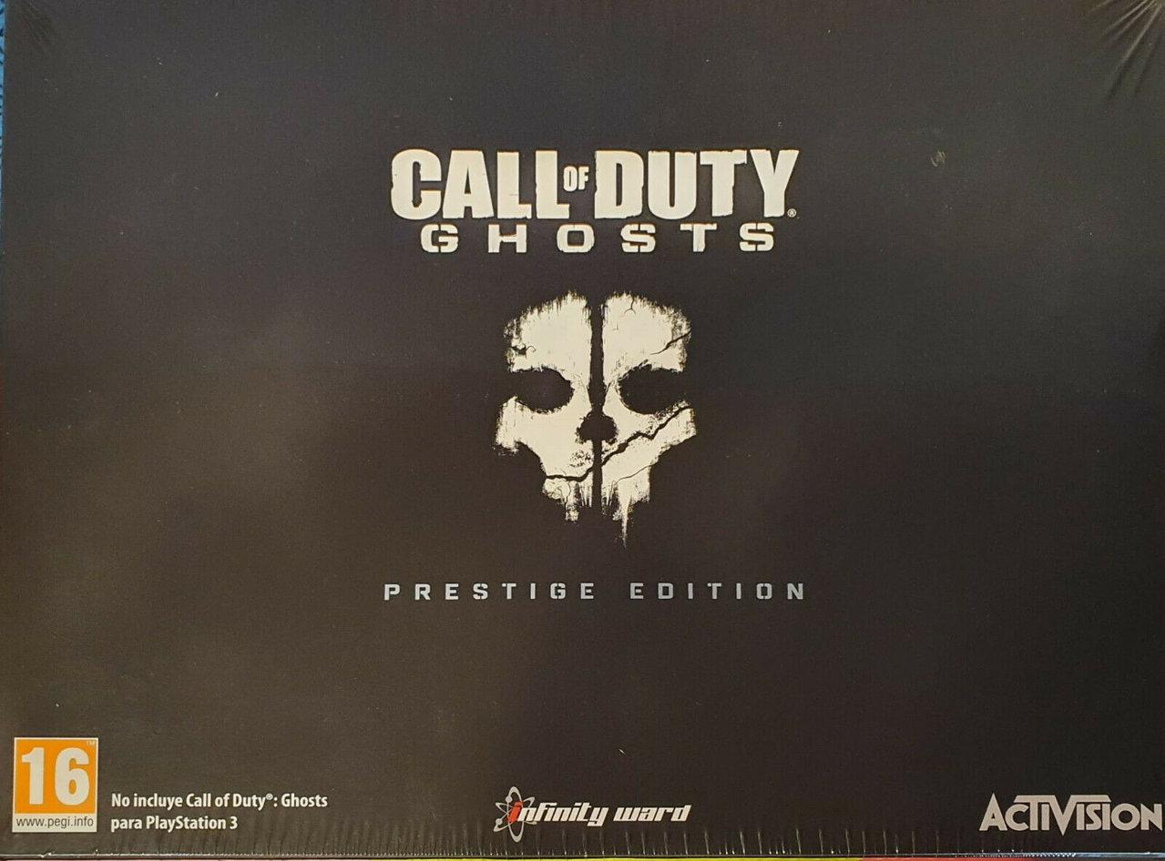 Call of Duty Ghosts PS3 Edición Prestige ( Incluido juego y está nueva y precintada )