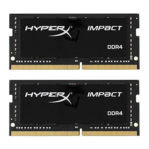 HyperX Impact DDR4 HX426S15IB2K2/32 Memoria RAM 2666MHz CL15 SODIMM 32GB Kit (2x16GB)