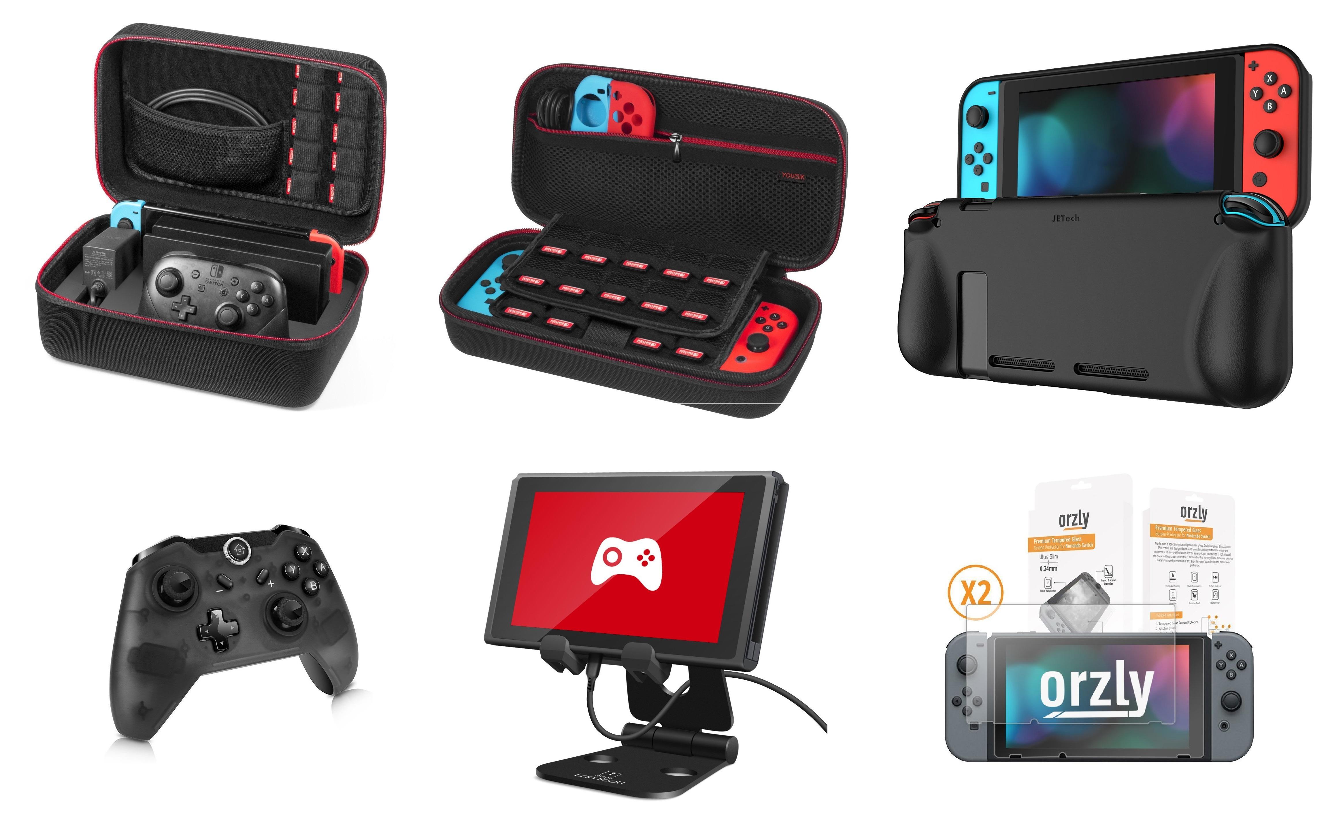 Accesorios Nintendo Switch (ofertas flash)