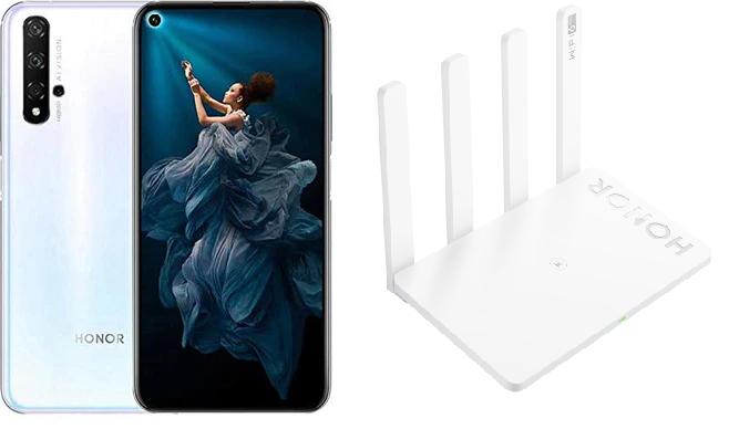 Honor 20 PRO 256GB + Router 3 solo 349€ (desde España)