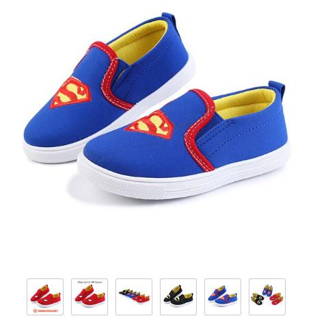 Zapatillas infantiles de Superman, Spiderman, Batman hasta la talla 31.
