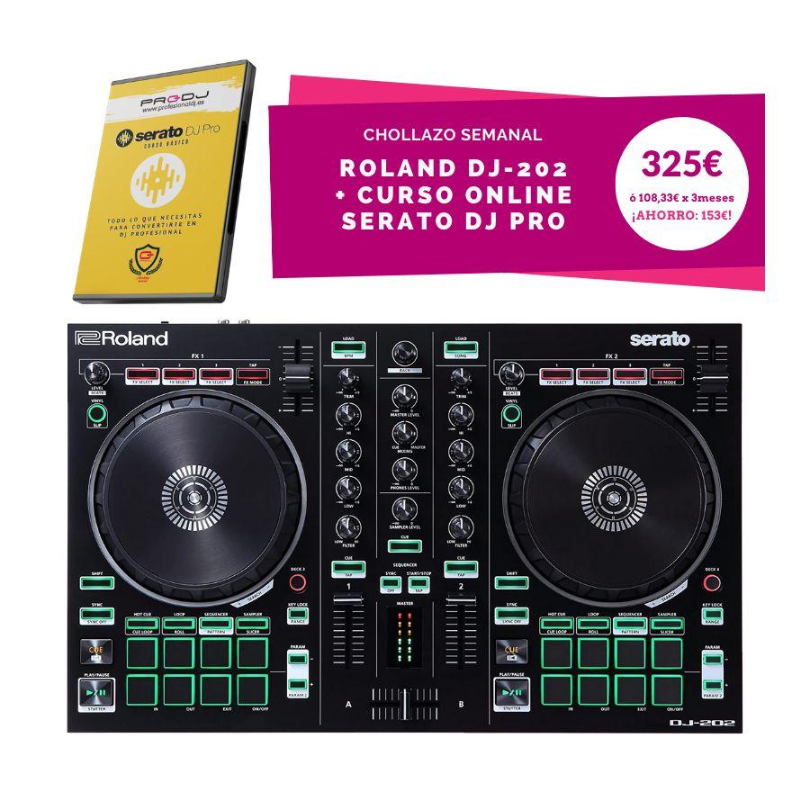 Mesa DJ Roland + curso a muy buen precio