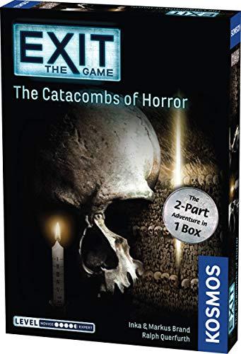 Juego de mesa Exit: Las catacumbas del horror