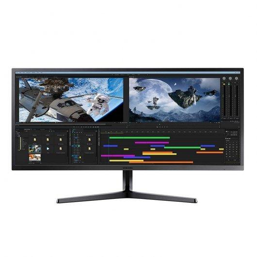 """Monitor Samsung LS34J550WQU 34.1"""" LED WQHD FreeSync"""