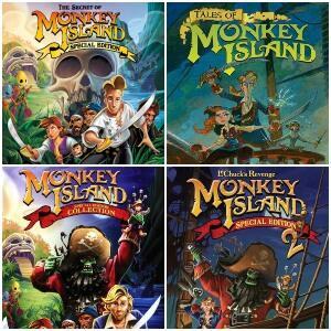 """STEAM :: Descuentos Saga """"Monkey Island"""""""