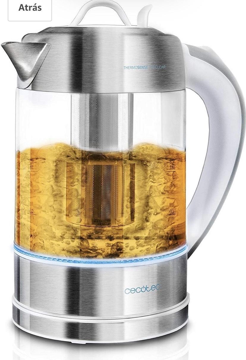 Cecotec V1701630 ThermoSense 370 - Hervidor de Agua Eléctrico, 1,7 litros,