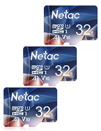 Pack 3 tarjetas MicroSD Netac 32GB. Sale a 3,46€ la unidad.