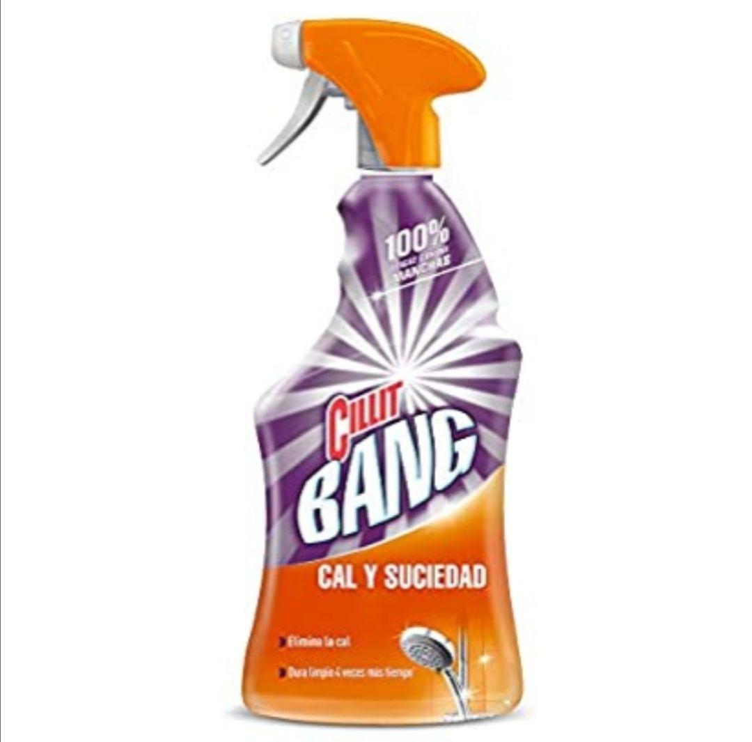 Cillit Bang - Spray Limpiador Cal y Suciedad, para Baños - 750 ml (compra recurrente y al tramitar)