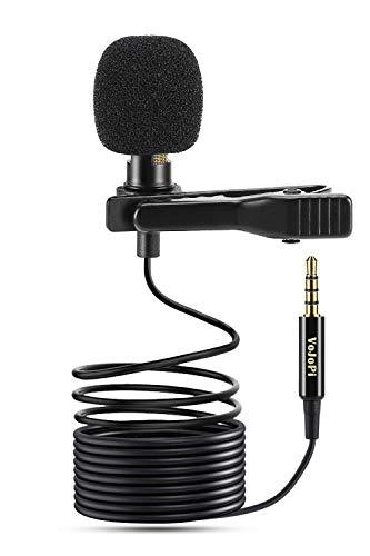 Micrófono de corbata para youtubers en proyecto