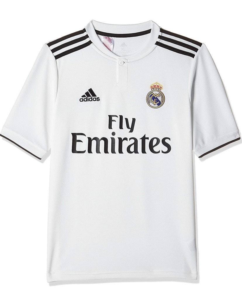 Talla 176cm( 15/16 años ) adidas 18/19 Real Madrid Home