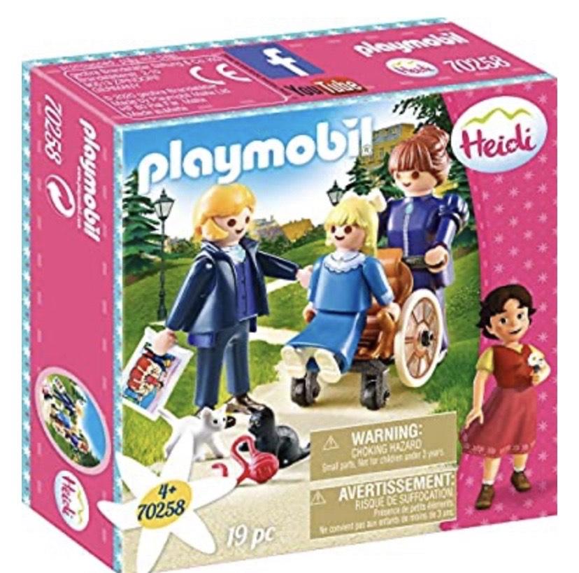PLAYMOBIL- Clara, Padre y Srta Rottenmeier Set Juguetes,