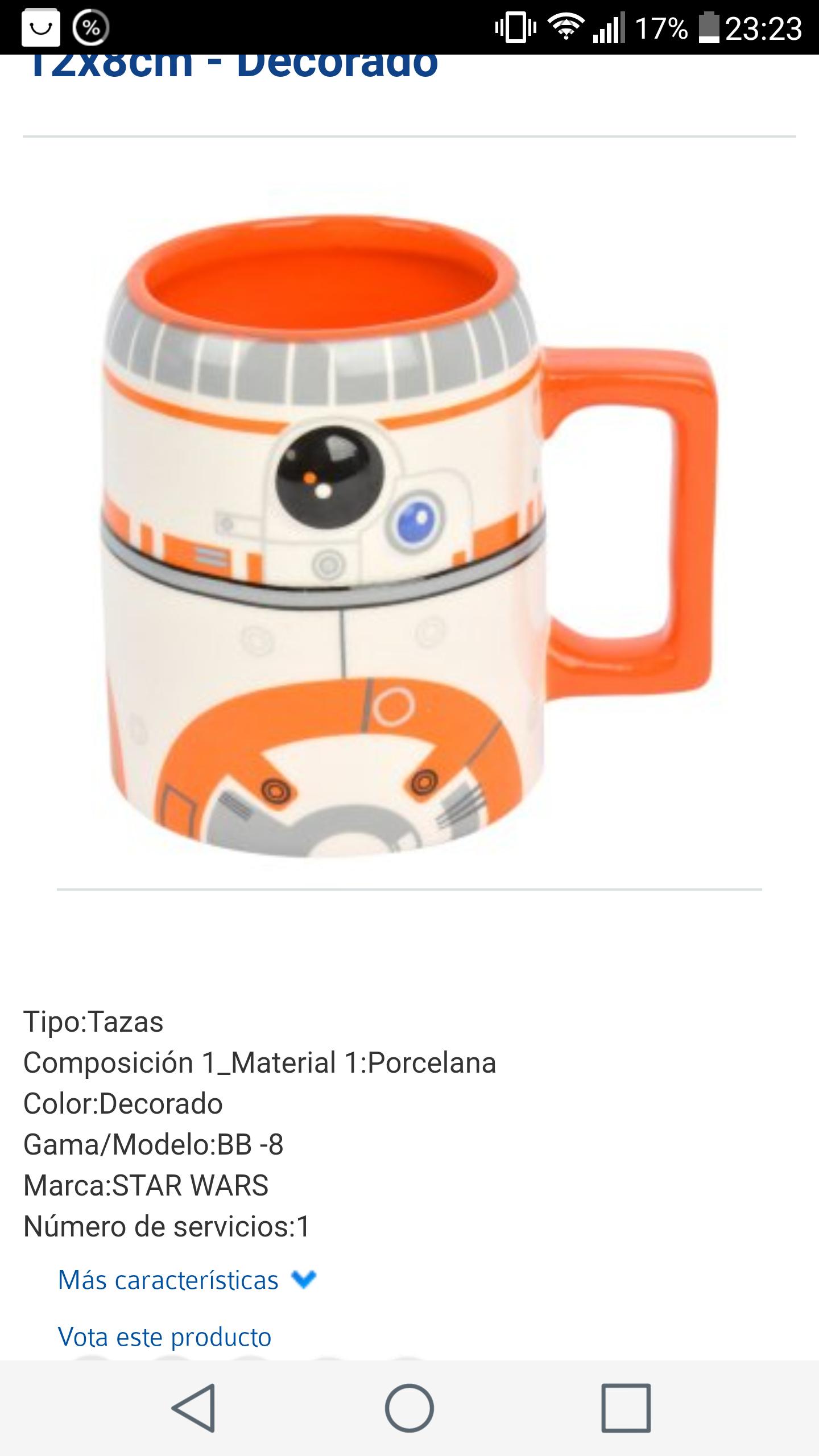 Mug Redondo de Porcelana BB -8 12x8cm - Decorado