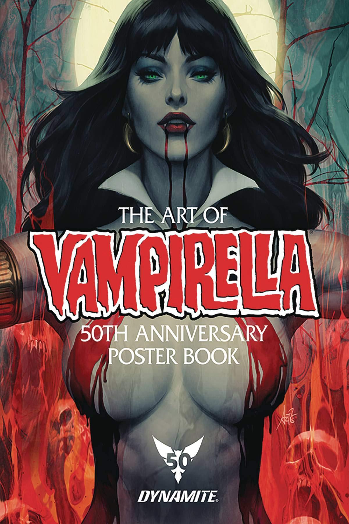 Libro de carteles del 50 aniversario de Vampirella (cómic) - Edición en ingles, 2019