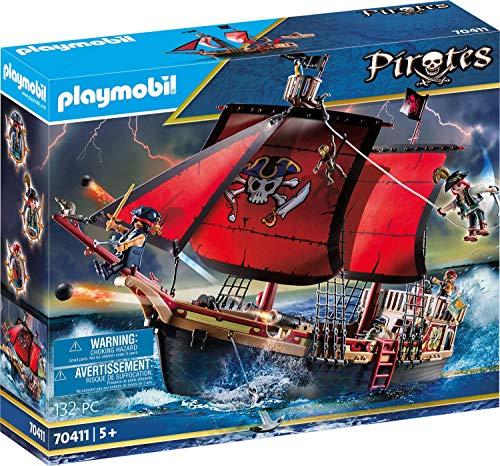 Barco Pirata Calavera - PLAYMOBIL Pirates