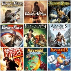 XBOX 360 :: Descuentos en Prince of Persia, Splinter Cell, Tom Clancy's y otros