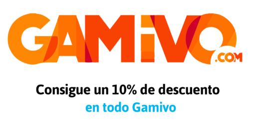 10% en toda la tienda Gamivo!