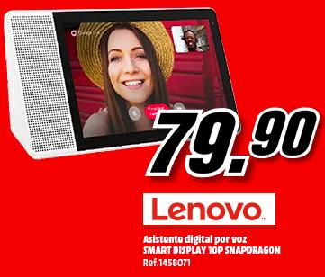 "Asistente inteligente - Lenovo Smart Display 10"""