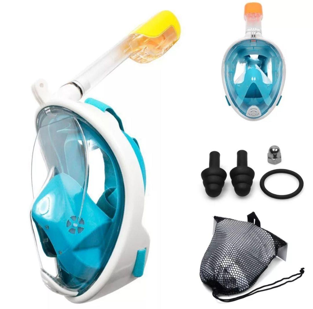 Oferta flash máscara de snorkel + complementos