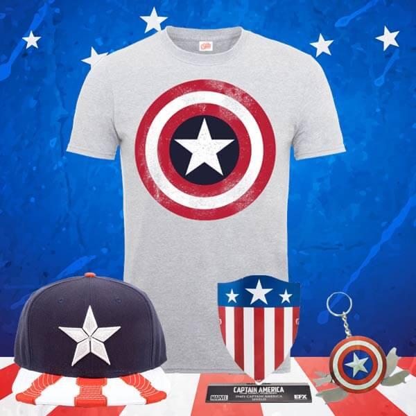 Pack Marvel Capitán América solo 22.4€