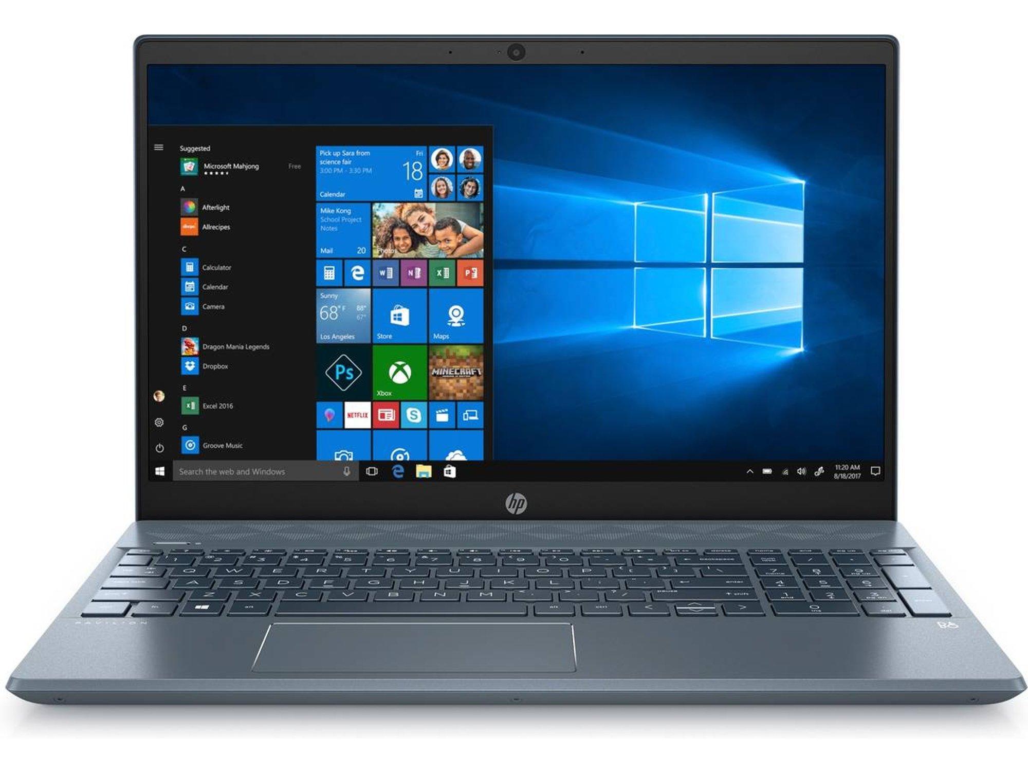 HP Pavilion 15-CS3009NS - 8AQ42EA (15.6'' - Intel Core i5-1035G1 - RAM: 16 GB - 512 GB SSD - NVIDIA GeForce MX130)
