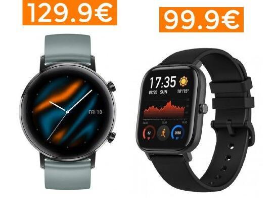 Descuentos en una selección de Smartwatchs [Xiaomi, Huawei, Samsung]