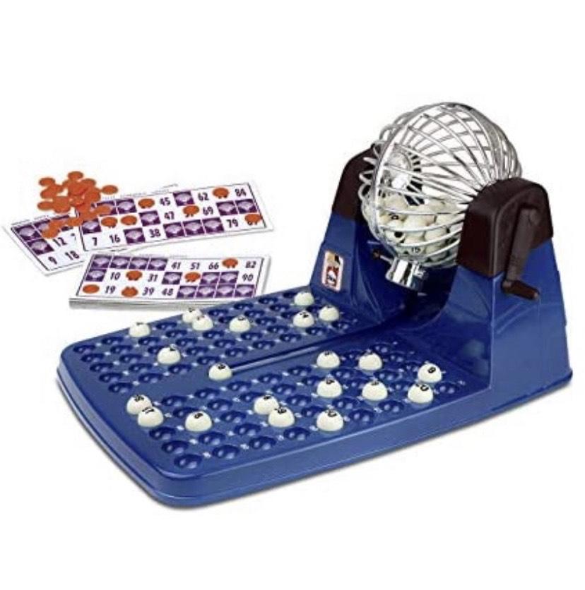 Chicos-Bingo Lotería automática con 48 cartones y 90 bolas imborrables,