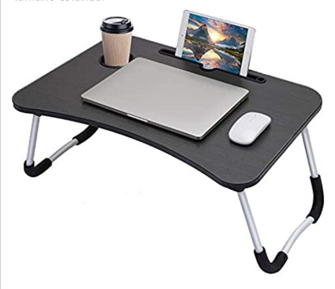 Wooden-Life - Mesa de cama para ordenador portátil