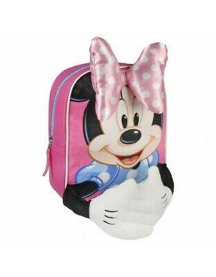 Mochila Infantil Minnie Mouse - Licencia Oficial Disney Studios