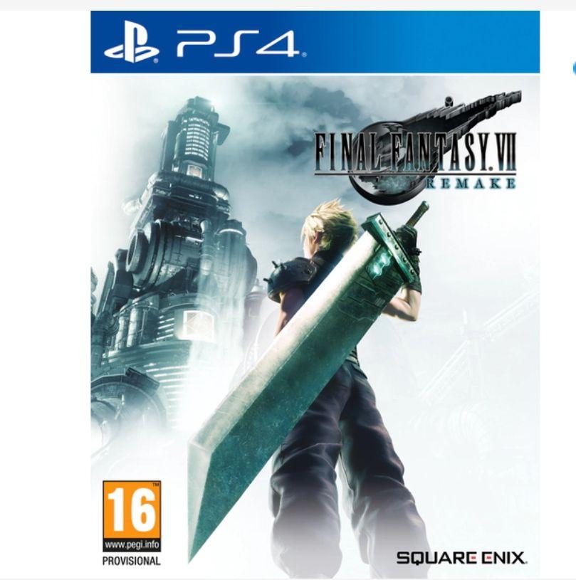 Final Fantasy VII Remake PS4(físico)