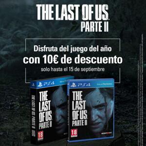 The Last of Us Parte II :: 10€ descuento en tiendas físicas y online (Hasta el 15 de Septiembre)