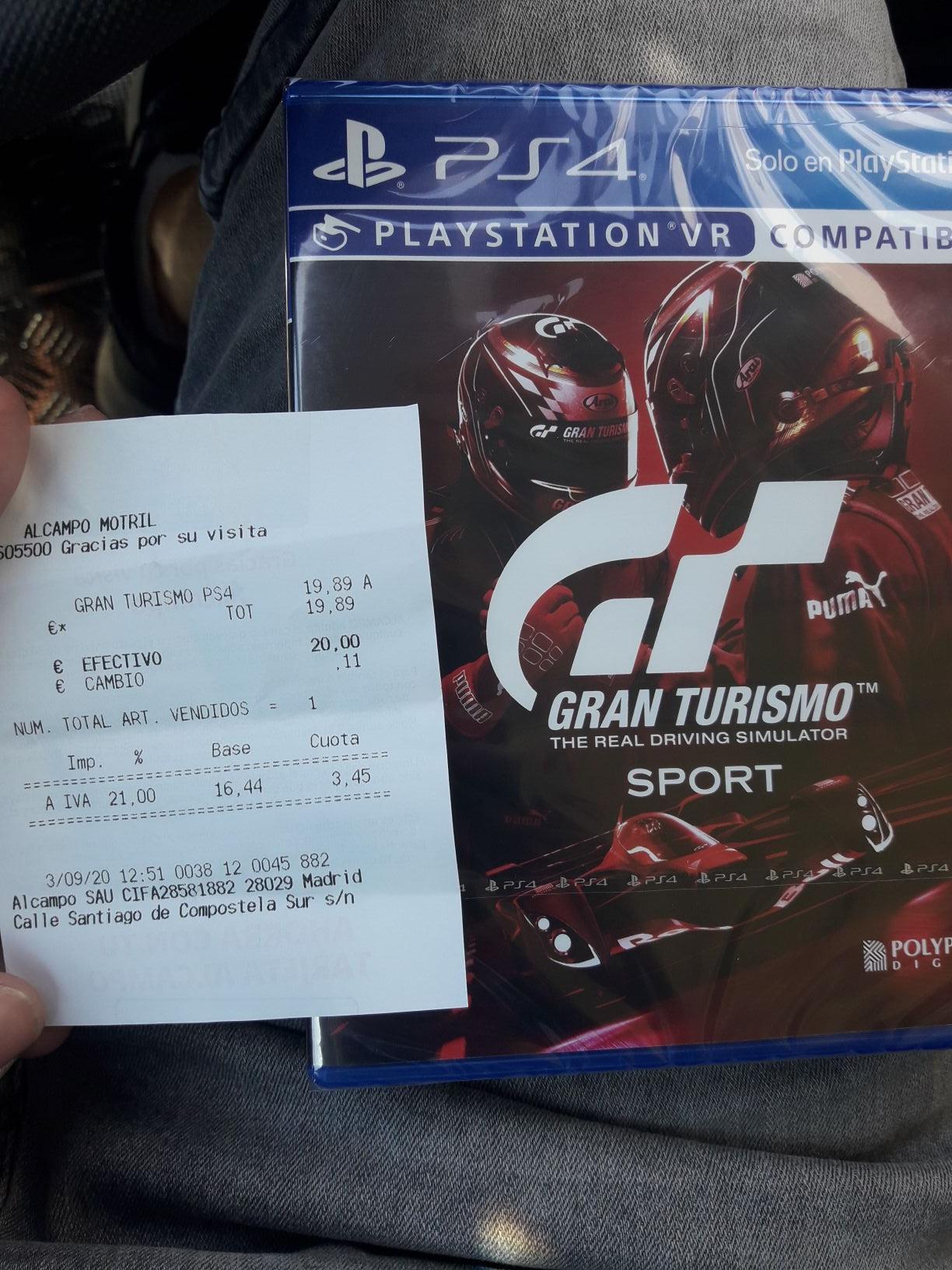 Gran Turismo Sport Spec II (Alcampo Motril/Granada)