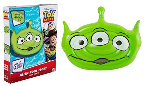 Flotador alienígena Toy story ¡A la INFINIDAD Y LA PISCINA! 103 cm x 84 cm