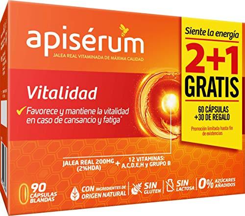 Apiserum Vitalidad para 3 meses (12,68 en compra recurrente)
