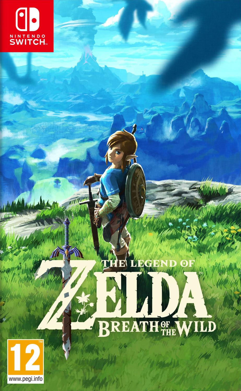 Zelda Breath of the Wild Switch