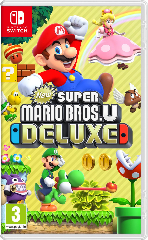 Super Mario Bros U Deluxe - Nintendo Switch