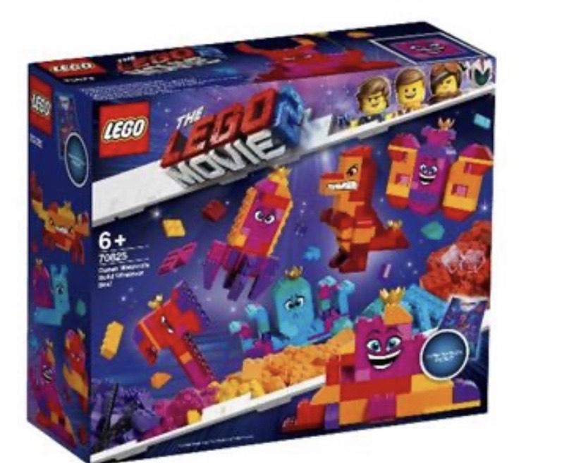 """LEGO Movie 70825 ¡Caja """"Construye lo que Sea"""" de la Reina Soyloque! Fnac"""